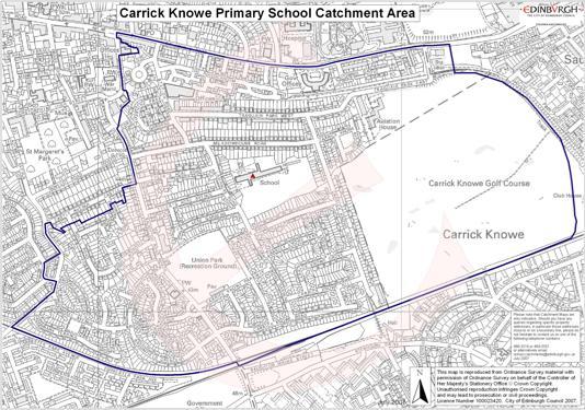 CK Catchment Area