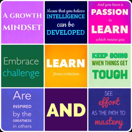 Growth Mindset Statements